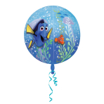 "Orbz ""Finding Dory"" Foil Balloon Clear G40 packed, 38 x 40 cm"