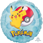 "Standard ""Pokemon"" Foil Balloon Round , S60, packed,"