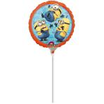 9'' Despicable Me Foil BalloonA20 Air Filled 23 cm