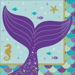 16 Napkins Mermaid Wishes 25 x 25 cm