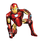 AirWalker Iron Man Foil Balloon P93 Packaged 93 x 116 cm