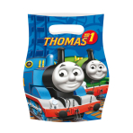 6 Party Bags Thomas & Friends Plastic 24.6 x 16.4 cm