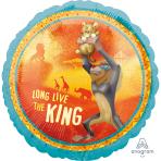 Standard Lion King Foil Balloon S60 Packaged