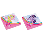 20 Napkins My Little Pony Rainbow 33 x 33 cm