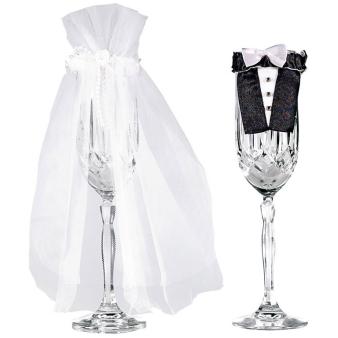 1 Stem Wear Bride and Groom   Fabric 24 x 16.5 cm