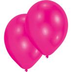 "10 Latex Balloons Standard Hot Pink 27.5 cm / 11"""