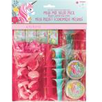 Favour Pack Magical Unicorn Plastic / Paper 48 Pieces