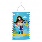 Drop Lantern Pirate Paper 28cm
