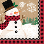 16 Napkins Winter Wonderland 25 x 25 cm