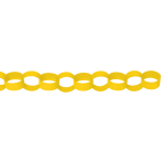 Chain Link Garland Yellow 390 cm