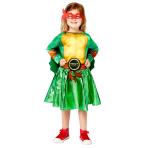 Child Costume TMNT Girls Age 4-6 Years