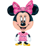 AirWalker Minnie Foil Balloon P60 Packaged 55 x 78 cm
