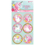 ID Sticker Set Magical Unicorn 24 Parts