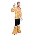 Adult Costume 60's Flower Power Shirt Size XL