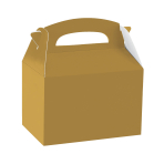Party Box Gold Paper