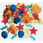 Confetti Luau Sea Life Metallic Foil 14 g