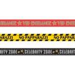 3 Caution Tapes Hollywood Foil 914 cm