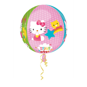 Orbz Hello Kitty Foil Balloon G40 Packaged 43 x 45 cm