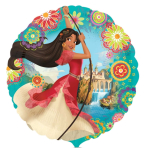 """Standard """"Elena of Avalor"""" Foil Balloon Round, S60, packed, 43cm"""