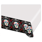 Tablecover Day of the Dead Plastic 137 x 243 cm