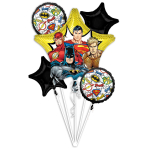 Bouquet Justice League Foil Balloon P75 Packaged