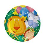 8 Plates Safari 23 cm