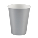 8 Cups Silver Paper 266 ml
