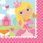 16 Napkins Woodland Princess 33 x 33 cm