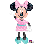 "AirWalker ""Minnie Mouse"" Foil Balloon, P80, packed, 96 x 137cm"