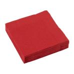 20 Napkins Apple Red 25 x 25 c