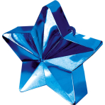 Balloon Weight Star Blue 150 g / 5.3 oz