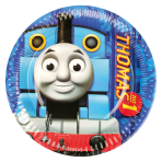 8 Plates Thomas & Friends Paper Round 17.7 cm