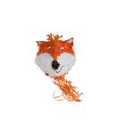 Pull Pinata Fox & Beaver Paper / Plastic 26.5 x 32.2 x 34.5 cm