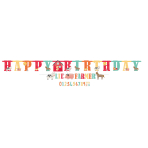 Letter Banner Kit Barnyard Birthday 2 Parts