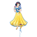 SuperShape Snow White Foil Balloon P38 Packaged 60 x 93 cm