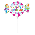 Mini Shape SweetShop Birthday Foil Balloon A30 Air Filled