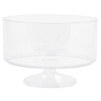 Trifle Container Plastic Medium 18.6  x 12.7 cm