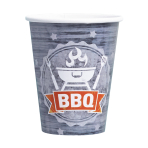 8 Cups BBQ Party Paper 250 ml