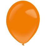 "50 Latex Balloons Decorator Standard Tangerine 35 cm / 14"""