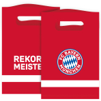 8 Paper Bags FC Bayern Munich 15,8 x 23,6 cm