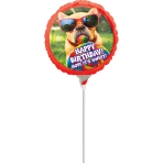 "9'' ""Avanti Sweet Birthday"" Foil Balloon Round , A20, airfilled, 23cm"