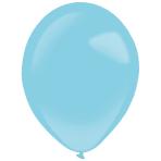 "50 Latex Balloons Decorator Fashion Caribbean Blue 35 cm / 14"""