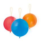 "3 Latex Punch Balls assorted 35.5 cm / 14"""