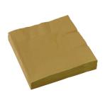 20 Napkins Gold 33 x 33 cm