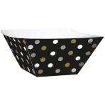 24 Snack Bowls Paper Minis black 8,8 x 8,8 x 4,9cm
