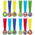 12 Award Medals Super Mario