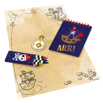 Party Game 'Treasure Hunt' Pirates Map, 24 pieces