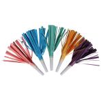 8 Blowouts with Fringes Rainbow & Cloud Plastic / Paper 16.5 cm