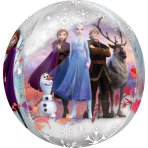 Orbz Frozen 2 Foil Balloon G40 packaged 38 cm x 40 cm