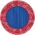 8 Plates Bandana & Blue Jeans 26.7 cm